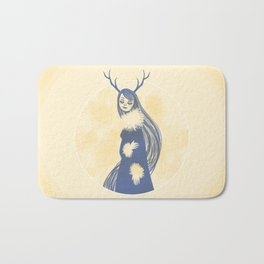 Lady Blue Bath Mat