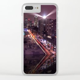 The Edge of Town Clear iPhone Case