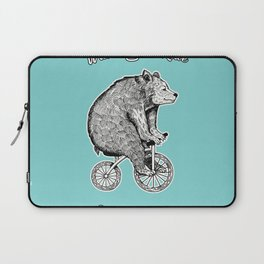 wont you ride my bicycle Laptop Sleeve