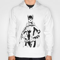 batgirl Hoodies featuring Batgirl by MKilness