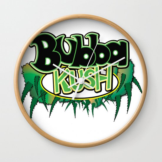 Bubba Kush Wall Clock