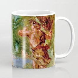 The Summer - Diana Surprised By Actaeon - Digital Remastered Edition Coffee Mug