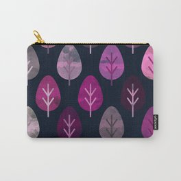 Watercolor Forest Pattern #4 Carry-All Pouch