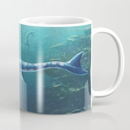 Tylosaurus Pembinensis Restored Coffee Mug