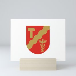 Flag of Tempere Mini Art Print