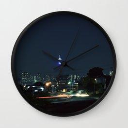 Forgotten Joburg Nights Wall Clock