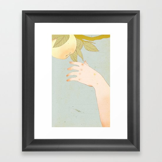 Reach version 2 Framed Art Print