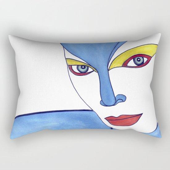Shaima (previous age) Rectangular Pillow