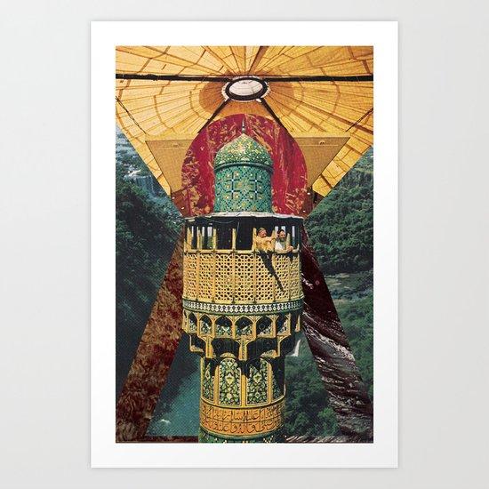 Sunset in Babylon Art Print