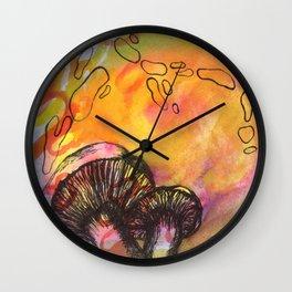 Psycelium Wall Clock