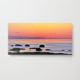 Yellow Skies of Summer Metal Print