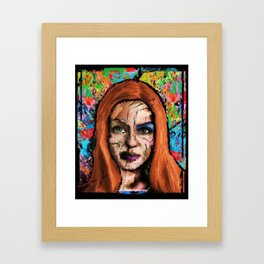 The Queen of all Tomorrow's Framed Art Print