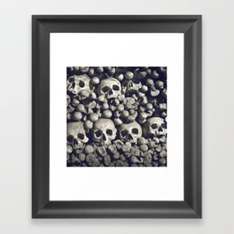 Bored to death Framed Art Print