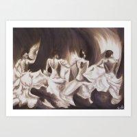 Flamenco VII Art Print