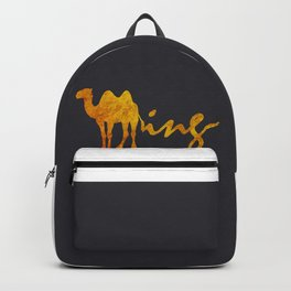 Gold Humping Backpack
