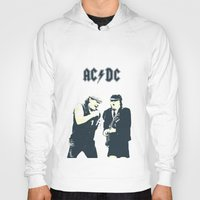 dc Hoodies featuring AC/DC by Nechifor Ionut