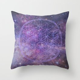 Sacred Geometry 10 Throw Pillow