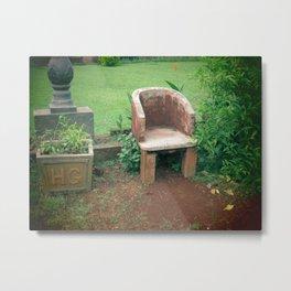 Empty Seat 2 Metal Print
