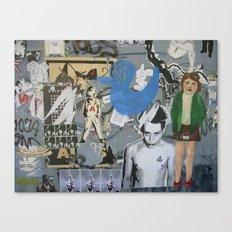 Home Alone Again (Berlin 2008) Canvas Print