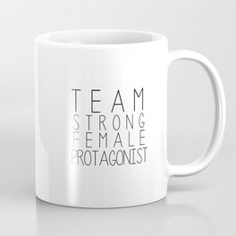 team strong female protagonist white Coffee Mug