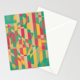 Abstract Graphic Art - Contemporary Music Stationery Cards