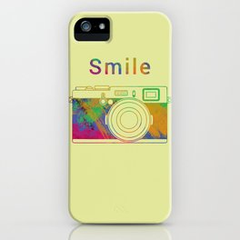 Smile on the Camera iPhone Case