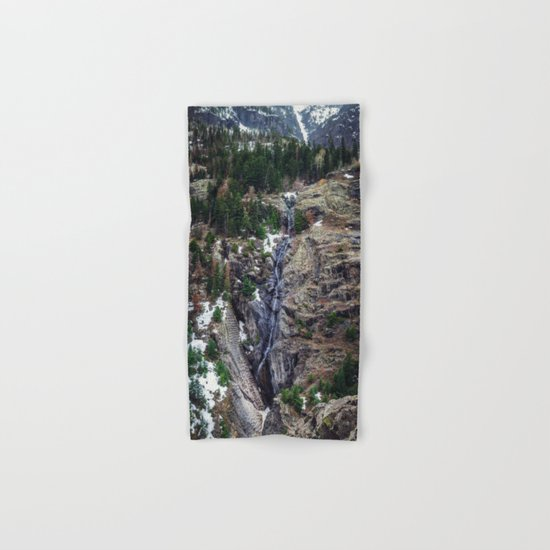 Mountain Pano Hand & Bath Towel