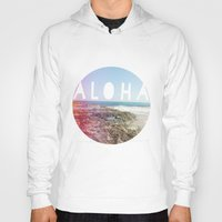 aloha Hoodies featuring Aloha by Sunkissed Laughter