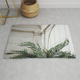 Palm in Orangery Rug