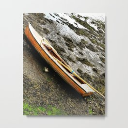 waiting on the tide Metal Print