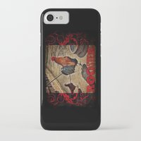 rooster iPhone & iPod Cases featuring Rooster by Justin Alan Casey