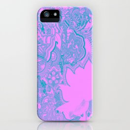 Lotus Surfer iPhone Case