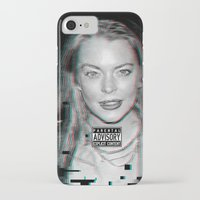lindsay lohan iPhone & iPod Cases featuring lYNDSAY lOHAN IS better THAN you by Tiaguh