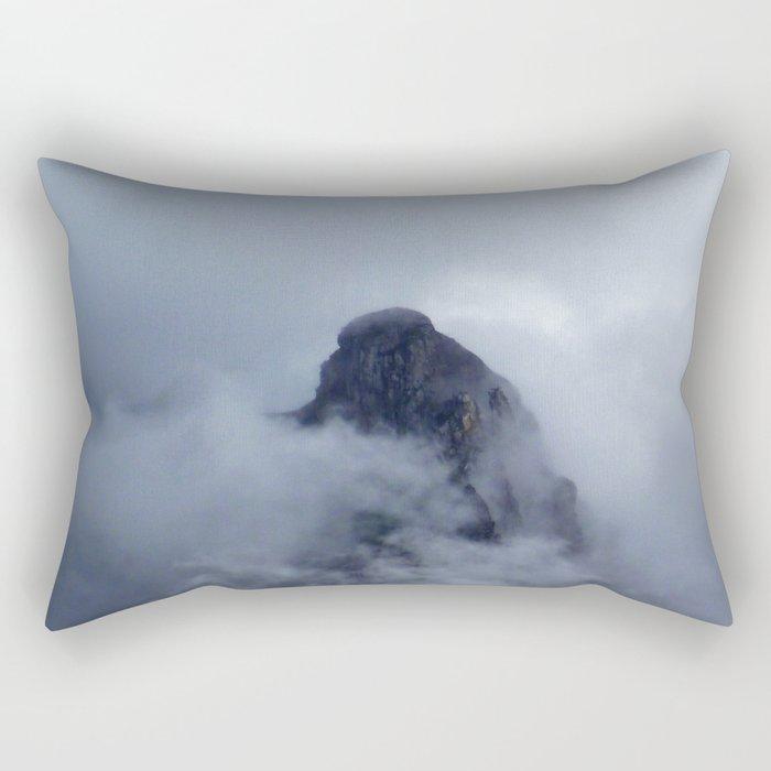 On the cloud Rectangular Pillow