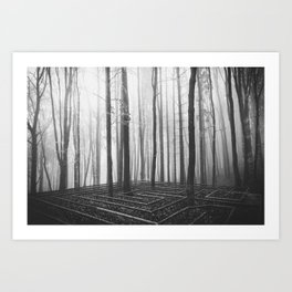 In Your Shadow Art Print