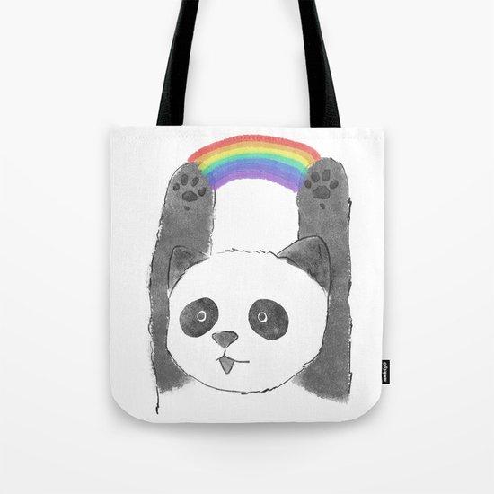 panda beam Tote Bag