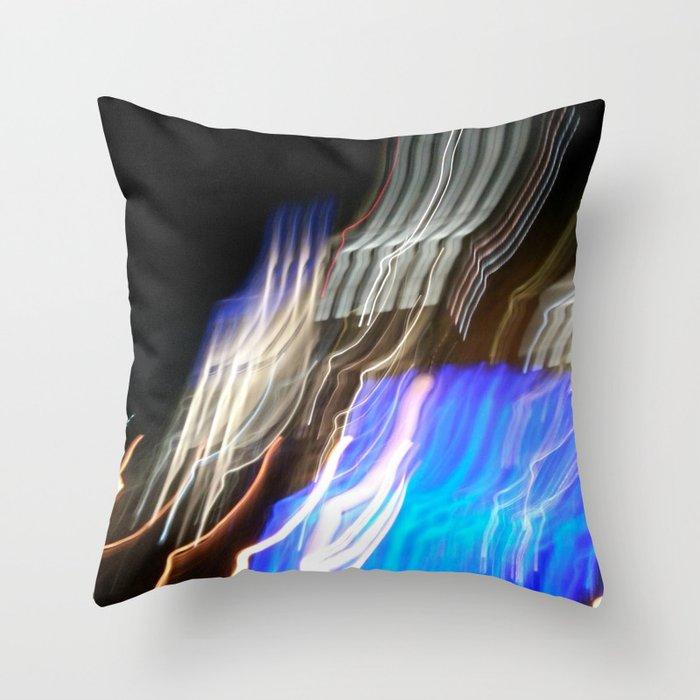 WaterFire (205a) Throw Pillow