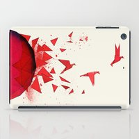 origami iPad Cases featuring Origami by Sumalab