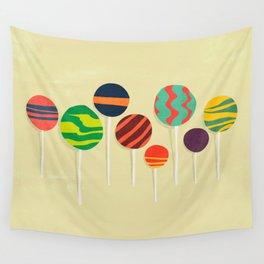 Sweet lollipop Wall Tapestry