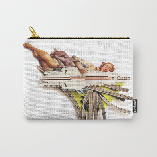 Sparklette | Collage Carry-All Pouch
