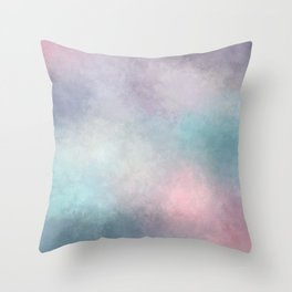Dreaming in Pastels Throw Pillow