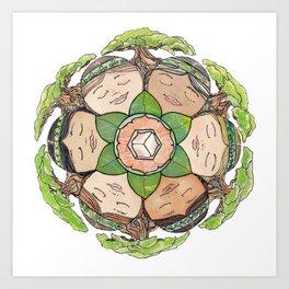 Earth Dreaming Art Print