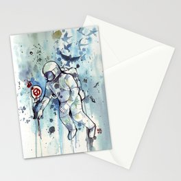Heretic Astronut Stationery Cards