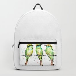 Green Bee-Eaters Backpack