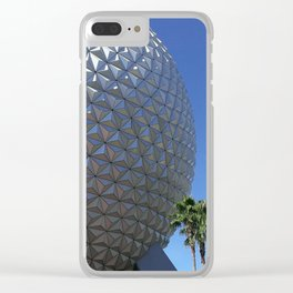 EPCOT: Spaceship Earth Clear iPhone Case