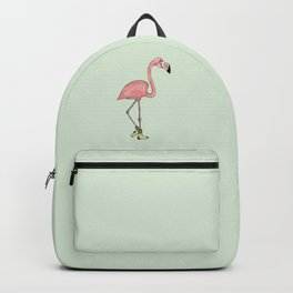 Flamingo Socks Backpack