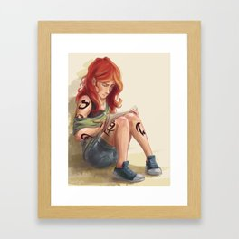 Clary Drawing Framed Art Print