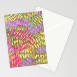 pastel waves Stationery Cards