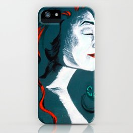 Poison Ivy iPhone Case