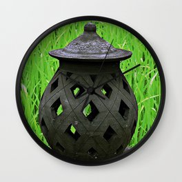 Candle Lantern Wall Clock
